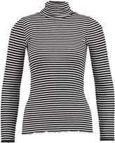 Rosemunde REGULAR ROLLER NECK Jumper black/ivory