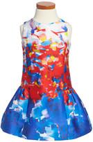 Milly Minis Sleeveless Party Dress (Toddler & Little Girls)