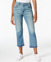 Calvin Klein Jeans Released-Hem Cropped Jeans