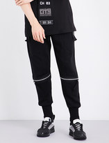 Blood Brother Grundy cotton-blend jersey jogging bottoms