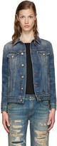R 13 Blue Denim Tailored Trucker Jacket