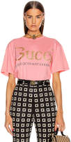 Gucci Short Sleeve T Shirt in Rose Bud & Mult | FWRD