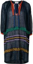 Sonia Rykiel embroidered tunic dress - women - Cotton/Linen/Flax/Nylon - S