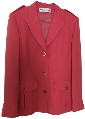 Guy Laroche Pink Wool Jacket for Women