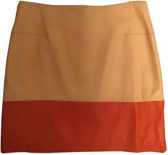 Richard Nicoll Beige Leather Skirt for Women