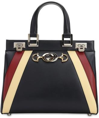 Gucci Zumi Special Leather Double Stripe Bag