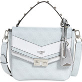 GUESS Slater Top Handle Small Flap Satchel