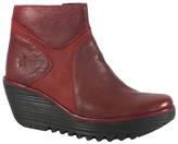Fly London Cordoba Red Yago Leather Boot