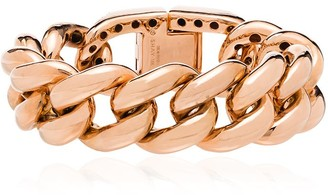 Shay 18Kgold horseshoe lock bracelet