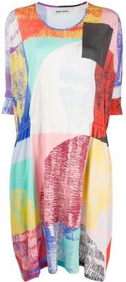 Henrik Vibskov Blurry Lights Print Loose Fit Dress