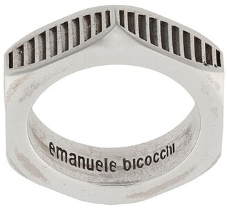 Emanuele Bicocchi Bolt textured ring