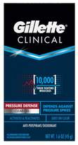 Gillette Clinical Pressure Defense Clear Gel Antiperspirant and Deodorant - 1.6oz