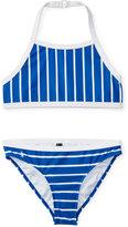Ralph Lauren Striped Two-Piece Swimsuit, Big Girls (7-16)