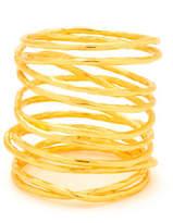 Gorjana Lola Tall Multi-Band Ring, Gold, Size 7
