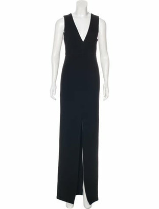 Alice + Olivia Textured Maxi Dress Black