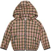 Burberry Check Hooded Coat