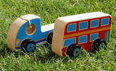 Oodles of Gifts Wooden Vehicles