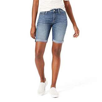 Levi's Gold Label Women's Mid-Rise Bermuda Shorts