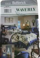 Waverly Butterick 5860, Waverly, Bedroom Patterns