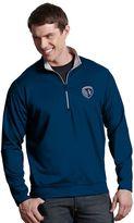 Antigua Men's Sporting Kansas City Leader 1/4-Zip Pullover