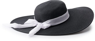 Sonoma Goods For Life Women's Floppy Hat with Ribbon