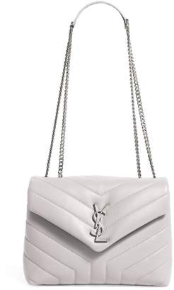 Saint Laurent Small Leather Loulou Shoulder Bag