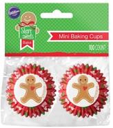 Wilton 100Ct Gingerbread Boy Mini Baking Cups