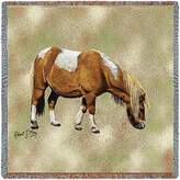 Pure Country Inc. Shetland Pony Small Blanket Tapestry Throw