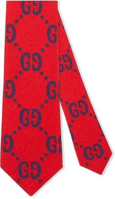 Gucci Kids GG logo tie