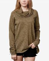 O'Neill Juniors' Cotton Cowl-Neck Sweater