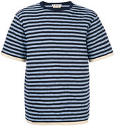Marni quilted T-shirt - men - Cotton/Polyester - 46