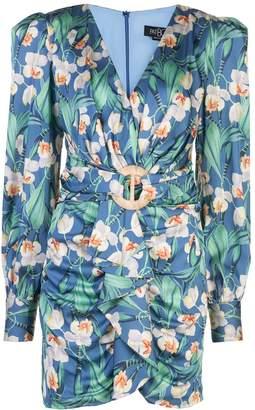 PatBO draped front dress
