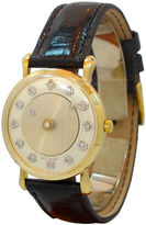 One Kings Lane Vintage Le Coultre Gold Mystery Dial, 1963