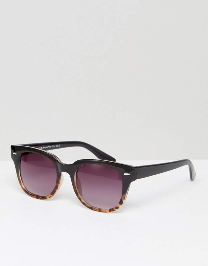 A. J. Morgan Aj Morgan Match Square Sunglasses In Black Tort