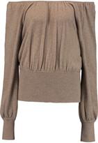 Michael Kors Off-the-shoulder cashmere sweater