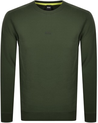 Boss Casual BOSS Weevo Sweatshirt Khaki