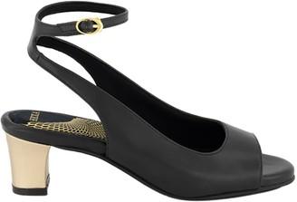 """Hexa Petra - Vegan Sandal 2"""" - Black"""