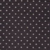 Paul Smith Men's Black Silk-Cotton Check And Polka Dot Reversible Scarf