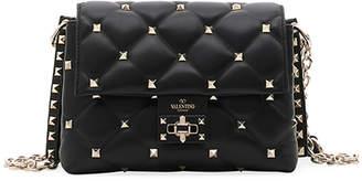 Valentino Garavani Candystud Medium Leather Shoulder Bag
