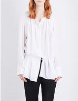 Ann Demeulemeester Alexis ruched cotton shirt