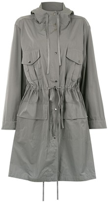Gloria Coelho Hooded Trench Coat