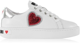Love Moschino LM Lace Logo Trainer Ld02