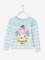 Vertbaudet Girls Jersey Knit T-shirt