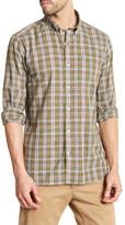 Victorinox Long Sleeve Plaid Tailored Fit Shirt
