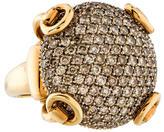 Gucci Large Diamond Horsebit Ring