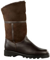 La Canadienne Kosmo Shearling-Lined Suede and Leather Boots