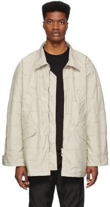 Fear Of God Off-White Logo Field Jacket