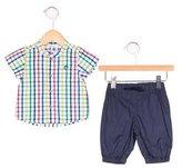 Petit Bateau Boys' Checkered Pant Set w/ Tags