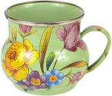 Mackenzie Childs MacKenzie-Childs - Flower Market Enamel Mug - Green