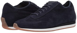 Santoni Pause Sneaker (Navy) Men's Shoes